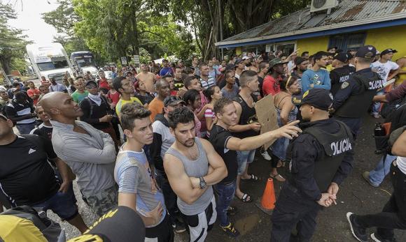 Cubanos en Costa Rica. Foto: elnuevodiario.com.ni
