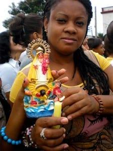La Virgen del Cobre.  Foto: Jimmy Roque Martínez