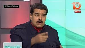 El presidente venezolano Nicolás Maduro.  Foto: telesur.net