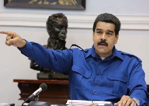 """Maduro dijo hoy que """"ni ataques ni emboscadas imperiales podrán con el pueblo de los libertadores""""."""