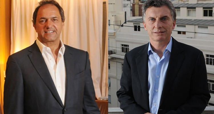 Scioli y Macri. Foto: http://www.puraciudad.com.ar