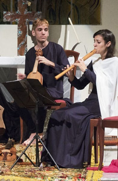 Claudia Almanza, Flautas,Chirimia y voz