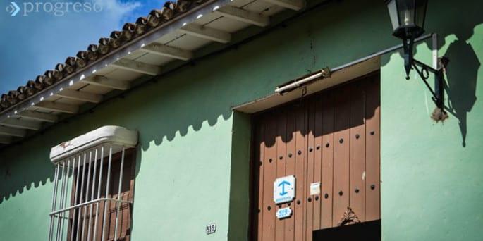 Hostal en Trinidad, Cuba. Foto: Carlos Luis Sotolongo
