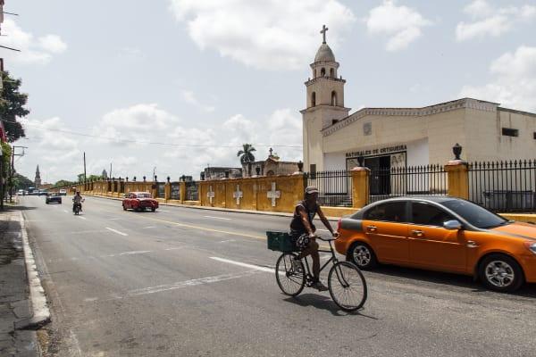 La Avenida Zapata.  Foto: Juan Suárez