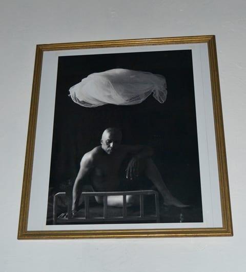 """Autor: René Peña. Título de obra: """"Cuna""""."""