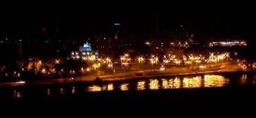 La Habana de noche.