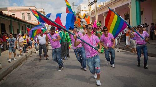 Del documental: Mariela Castro's March: Cuba's LGBT Revolution