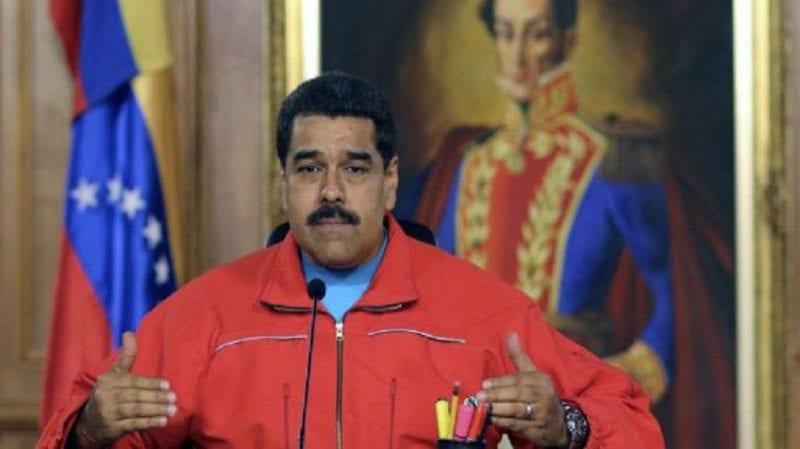 Maduro despues de las elecciones legislativas del 6D. Foto: telesurtv.net