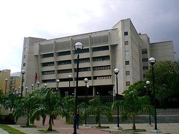 La Tribuna de justicia de Venezuela.  Foto: wikipedia.org