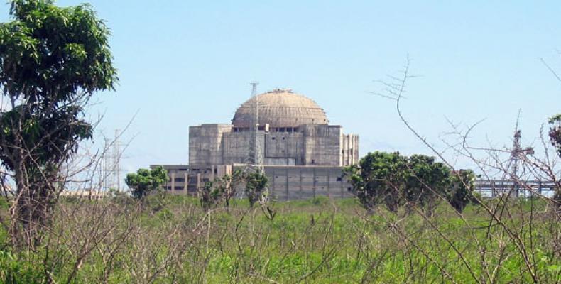 Central electronuclear cubana que nunca fue terminado.  Foto: cubasi.cu