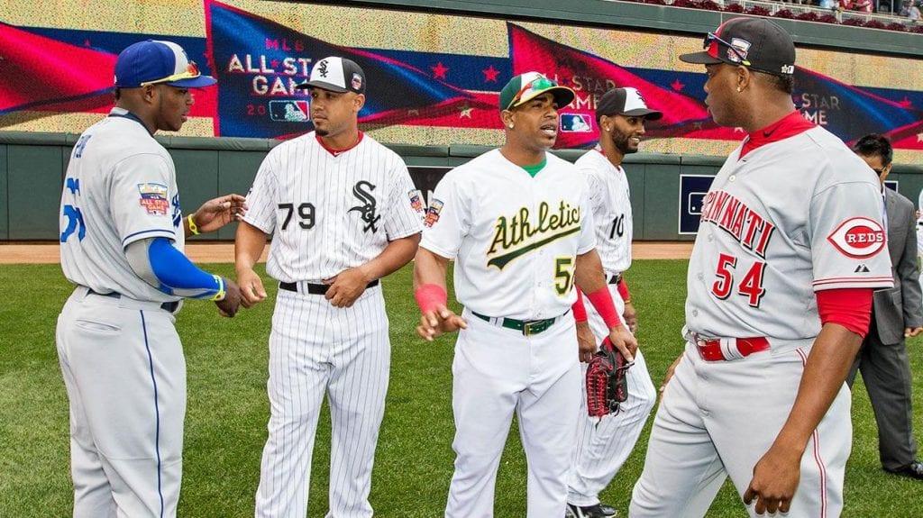 Estrellas cubanos en Grandes Ligas. Foto/archivo: espn.com.au