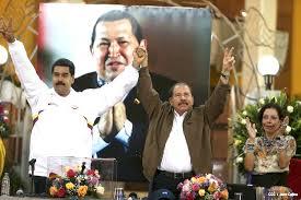 Nicolás Maduro y Daniel Ortega. Foto: 19digital.com