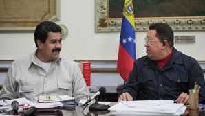 Maduro y Chávez. Foto: telesurtv.net