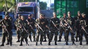 El presidente nicaraguense, Daniel Ortega, envió tropas de su ejercito para bloquear a los cubanos.