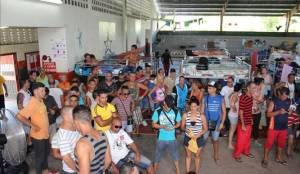 Cubanos varados en Costa Rica. Foto: tvn-2.com