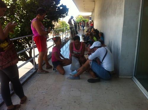 Gente por La Rampa