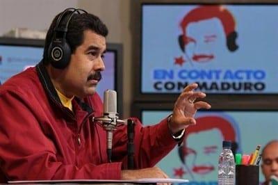 El presidente Maduro en su programa radial.