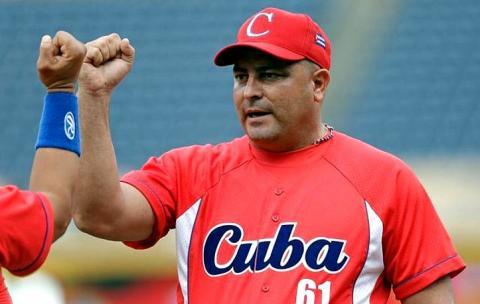 Roger Machado es el manager que dirige la selección reforzada de Ciego de Avila para la Serie del Caribe.