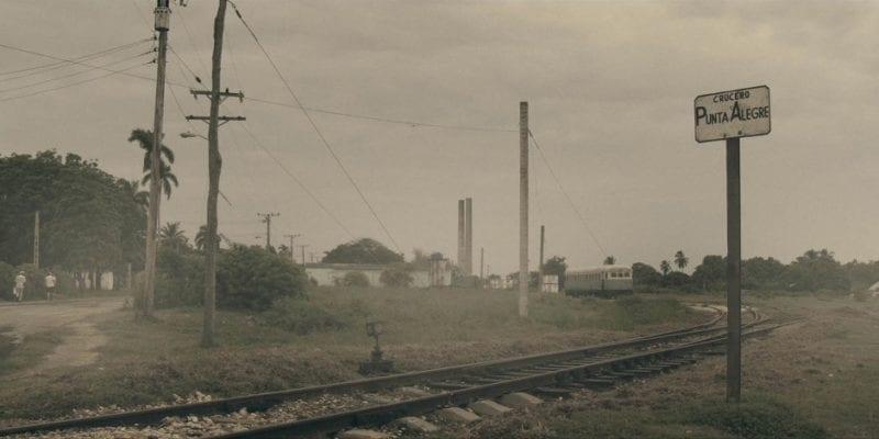 """Fotograma de la película """"Tren de la linea norte"""""""