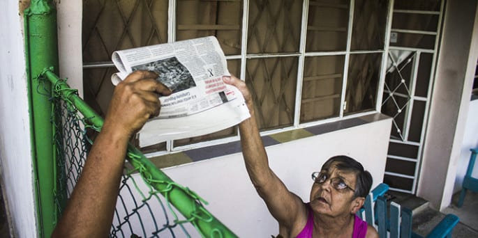Las interrogantes están en la calle. Fernando Medina Fernández / Cubahora.