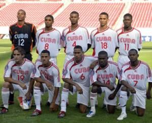 Foto/archivo de uno de los equipos Cuba de fútbol.  Foto: eldeportes.com