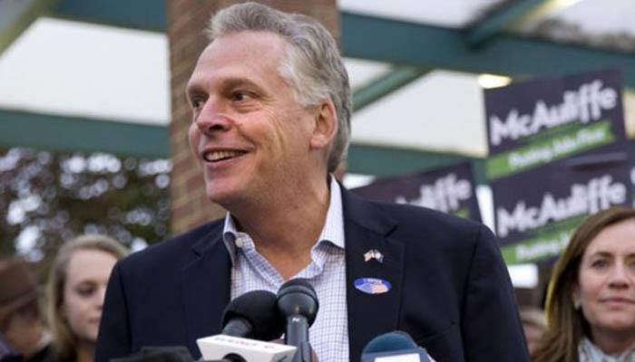 El gobernador de Virginia, Terry McAuliffe