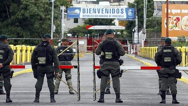 En la frontera de Venezuela y Colombia.  Foto: telesurtv.net