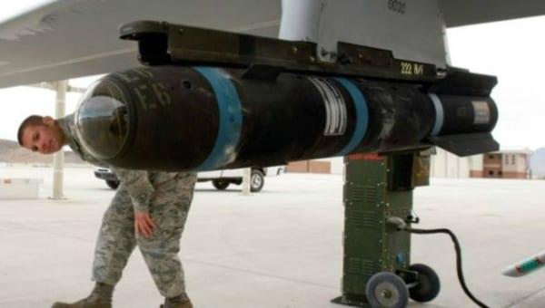 Un misil hellfire.  Foto: Getty