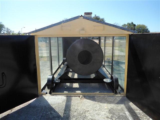 Secadora solar para granos. Foto: CIES