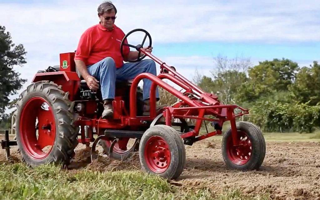 Un tractor Cleber. Foto: newsobserver.com