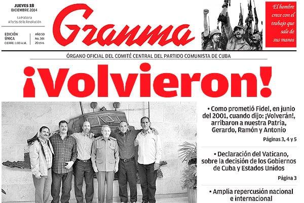 En la negociación, Cuba logró la liberación de los agentes presos de por vida en los EE.UU.