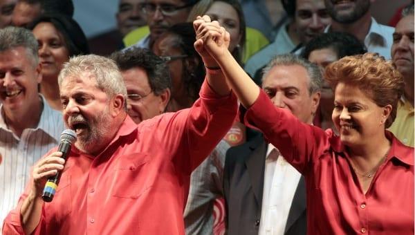 Lula y Dima en otros tiempos mas felices. Foto/archivo: telsurtv.net