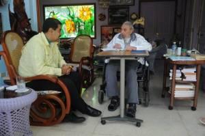 Nicolás Maduro y Fidel Castro.  Foto del 19-3-2016 por juventudrebelde.cu