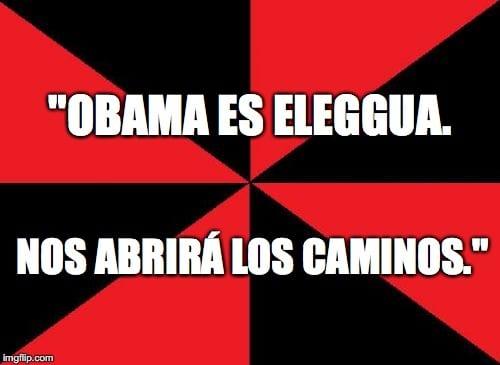 Obama Eleggua