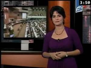 """Talia Gonzalez del programa """"Lo que Cuba dice"""""""