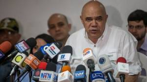 El secretario ejecutivo de MUD, Jesús Torrealba   Foto/archivo: Miguel Gutiérrez/EFE