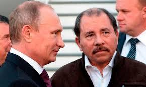 Vladimir Putín y Daniel Ortega.  Foto: radionicaragua.com.ni