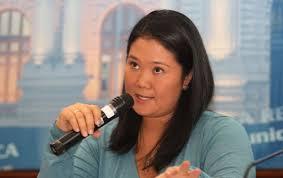 Keiko Fujimori.  Foto: perureports.com