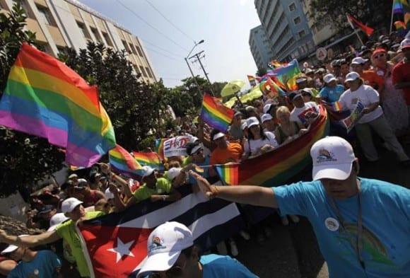 El desfile contra la homofobia del 14-5-2016. Foto: cubadebate-cu