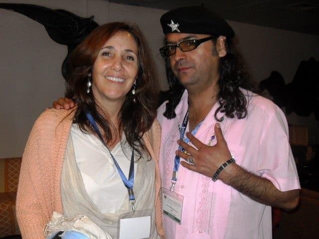 El Che de los Gays junto a Mariela Castro en ILGALAC.
