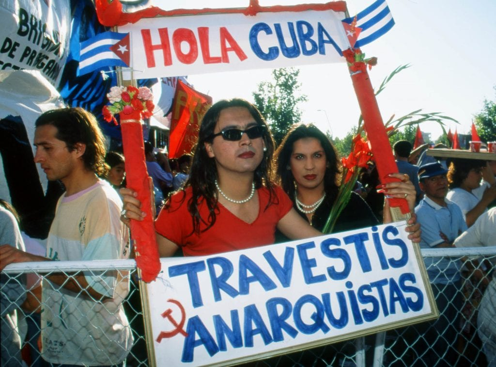 Travesti Anarquistas. Alvaro Hoppe