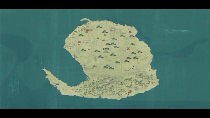 Isla de Pinos. (Pinero, Pinero)