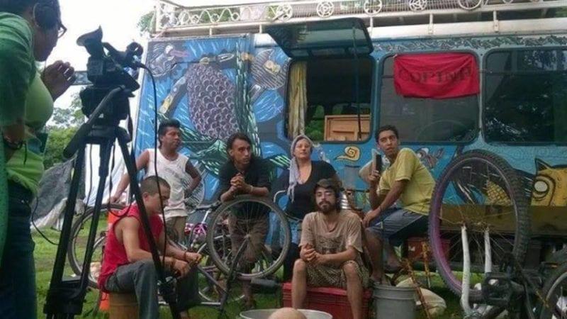 La caravana mesoamericana