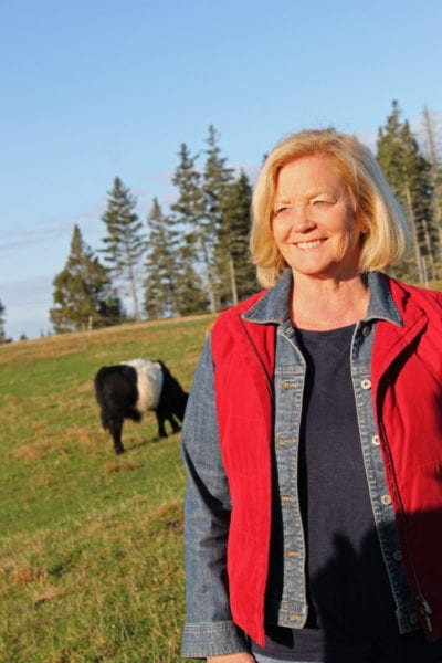 Congresswoman Chellie Pingree heads to Cuba on April 30th to meet with organic farmers and agricultural officials. She is pictured here in an undated photo on a Maine farm.