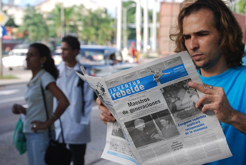 8.Los jóvenes de Cuba no ven en los medios de comunicación reflejadas sus vidas, sueños y frustraciones. Foto: Raquel Pérez Díaz