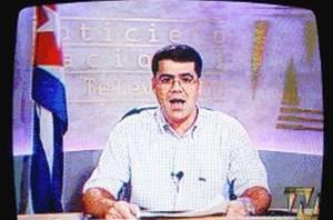Carlos Valenciaga, apareció en la televisión estatal para anunciar que el líder cubano había sido sometido a una operación y delegaba el Gobierno en su hermano menor Raúl.