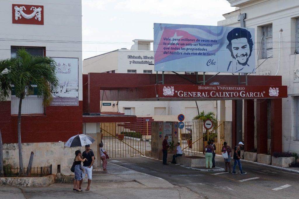 Havana's Calixto Garcia Hospital. Foto: Juan Suárez