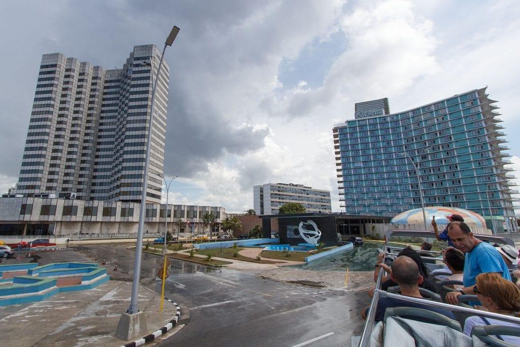 The Cohiba and Riviera Hotels. Foto: Juan Suárez