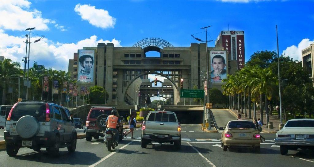 Avenida Bolivar, Caracas.  Foto: caridad