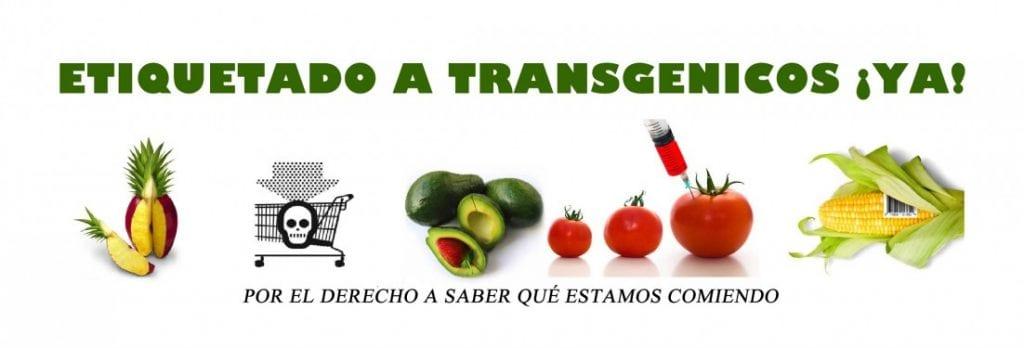 Una de las campañas a favor de etiquetas alertando consumidores. Foto: stop-monsanto.es